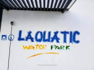 Laquatic Water Park -The First Inflatable Water park in Africa