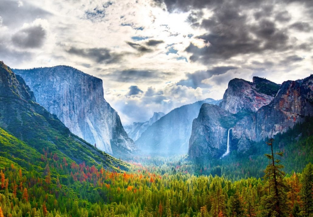 The Yosemite National Park in California, United States
